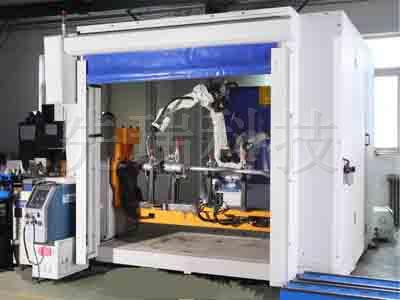 净化器机器人焊接系统