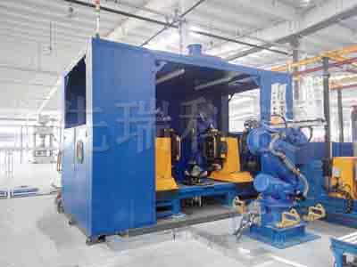 箱式端盖机器人焊接系统